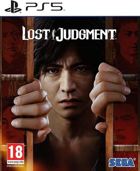 LostJudgment PS5 Jaquette 001