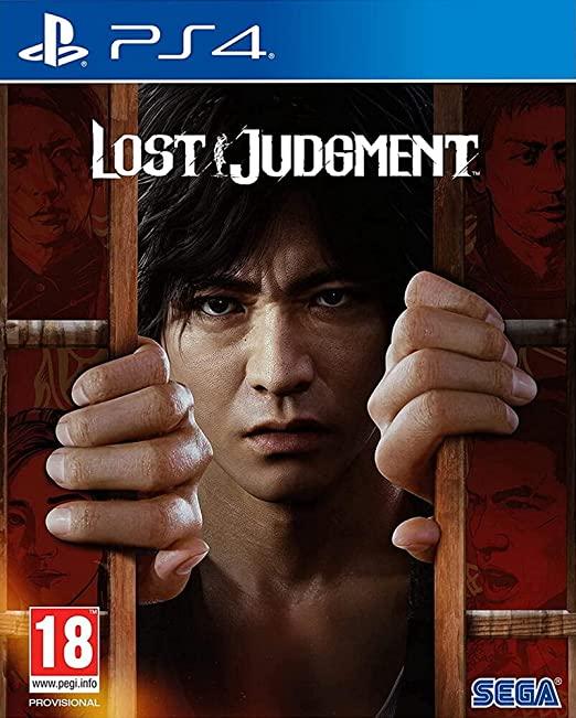 LostJudgment PS4 Jaquette 001