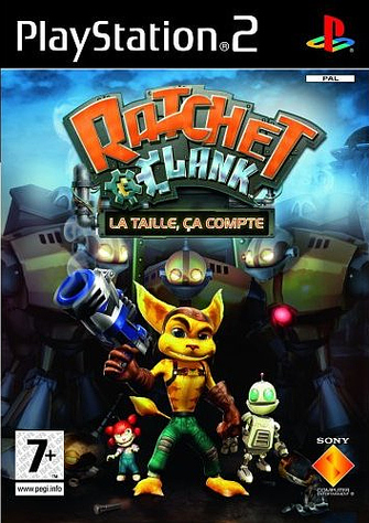 Ratchet-Clank-lataille-cacompte PS2 Jaquette 001