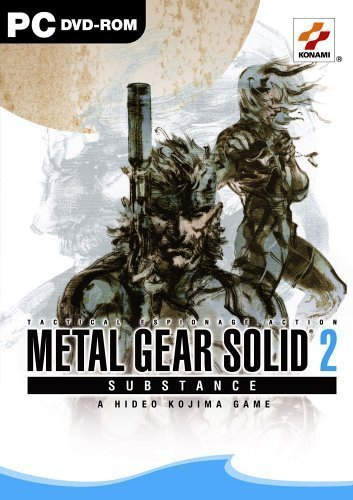 MetalGearSolid2-Substance PC Jaquette 001