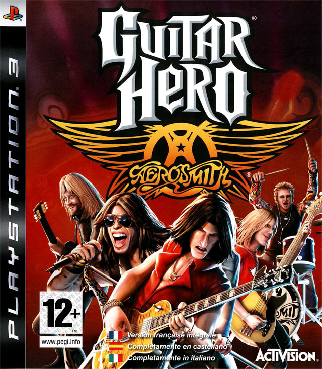 GuitarHero-Aerosmith PS3 Jaquette 001