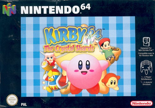 Kirby64 N64 Jaquette001