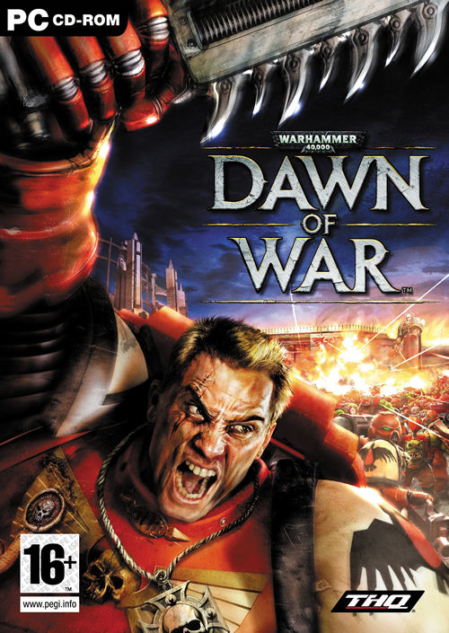 Warhammer40k DawnOfWar PC Jaquette