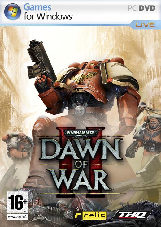 DawnOfWarII PC Jaquette