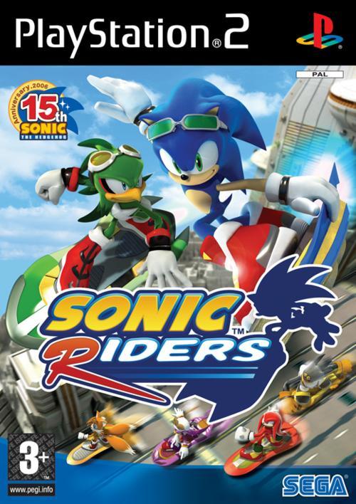 SonicRiders PS2 Jaquette001
