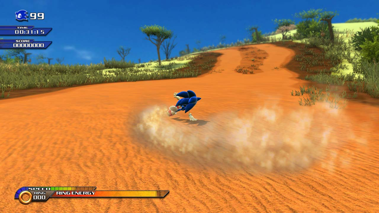 SonicUnleashed Multi Screens 13