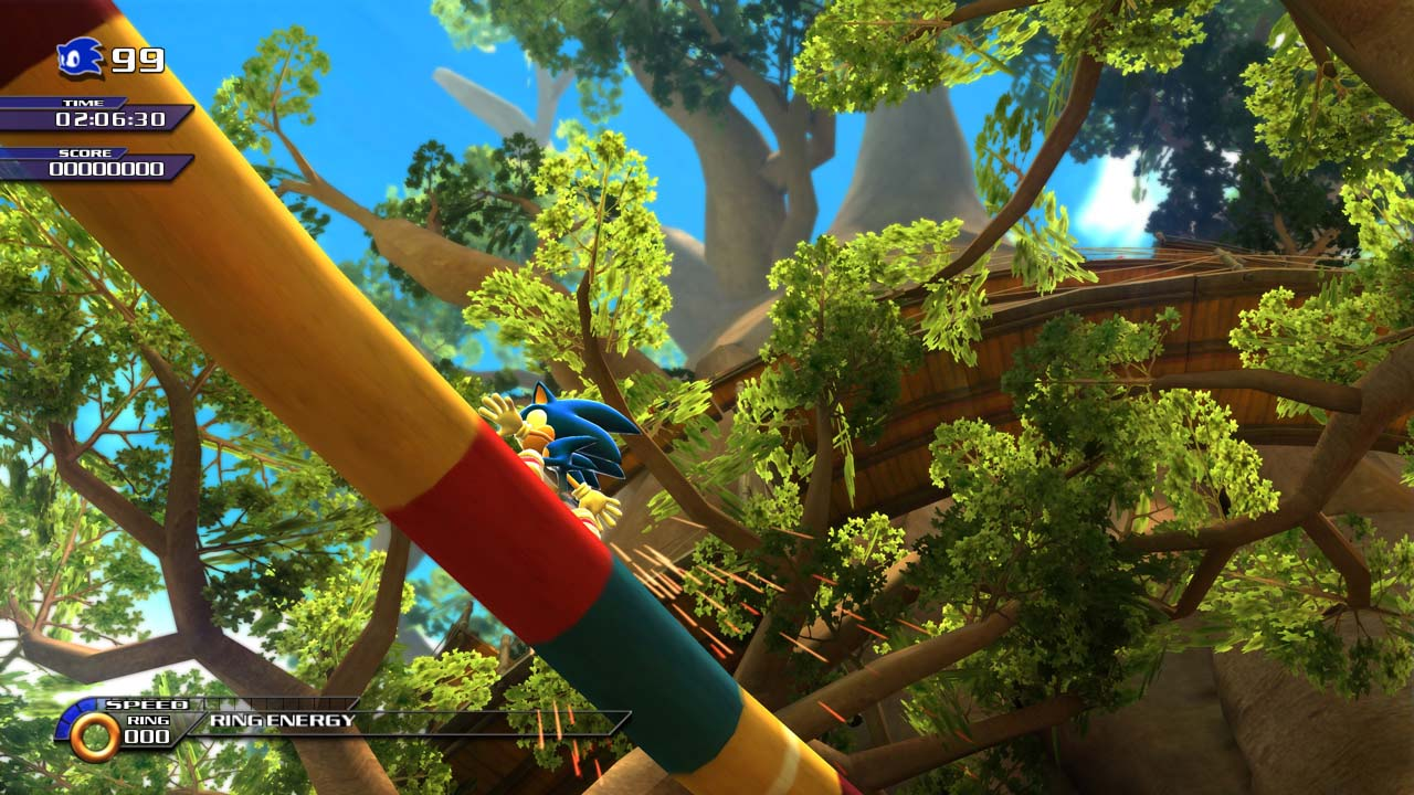 SonicUnleashed Multi Screens 30