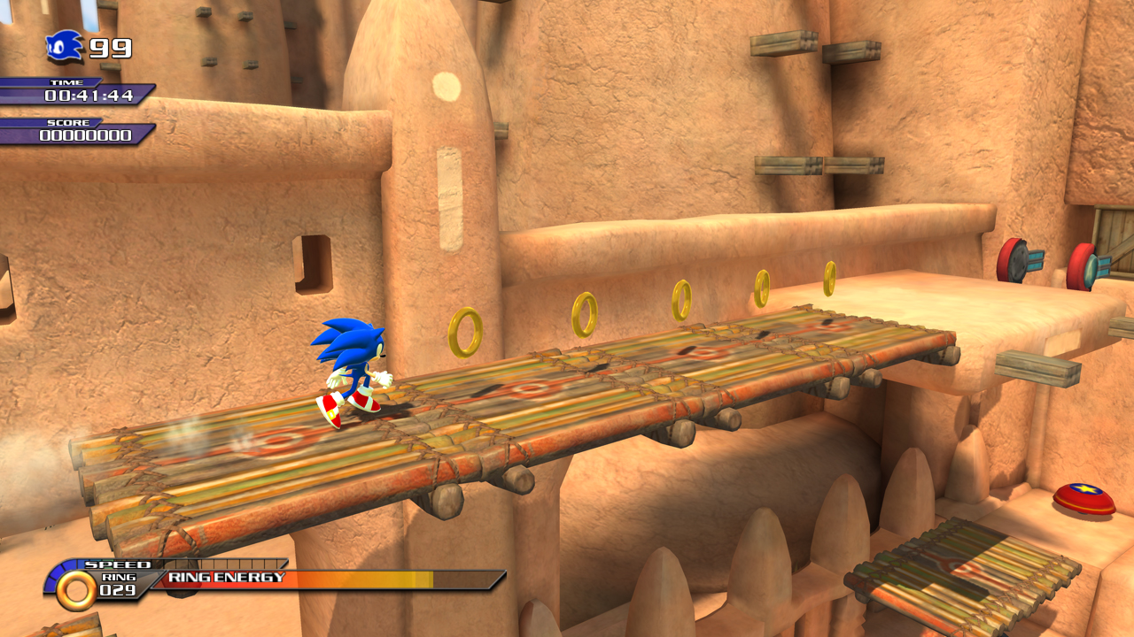 SonicUnleashed Multi Screens 35