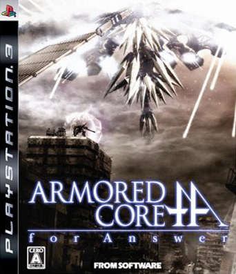 ArmoredCore4Answer PS3 Jaquette003