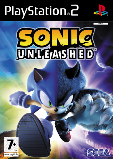 SonicUnleashed PS2 Jaquette