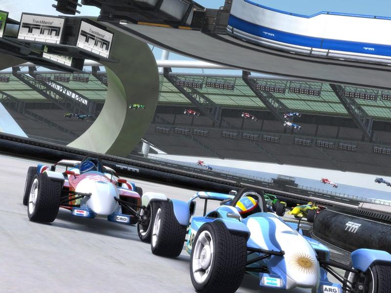 TrackManiaNationsForever PC ed006