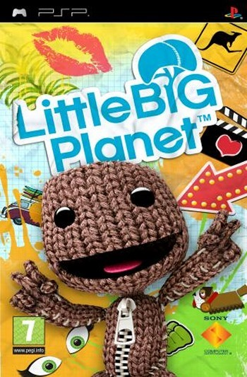 LittleBigPlanet PSP jaquette001