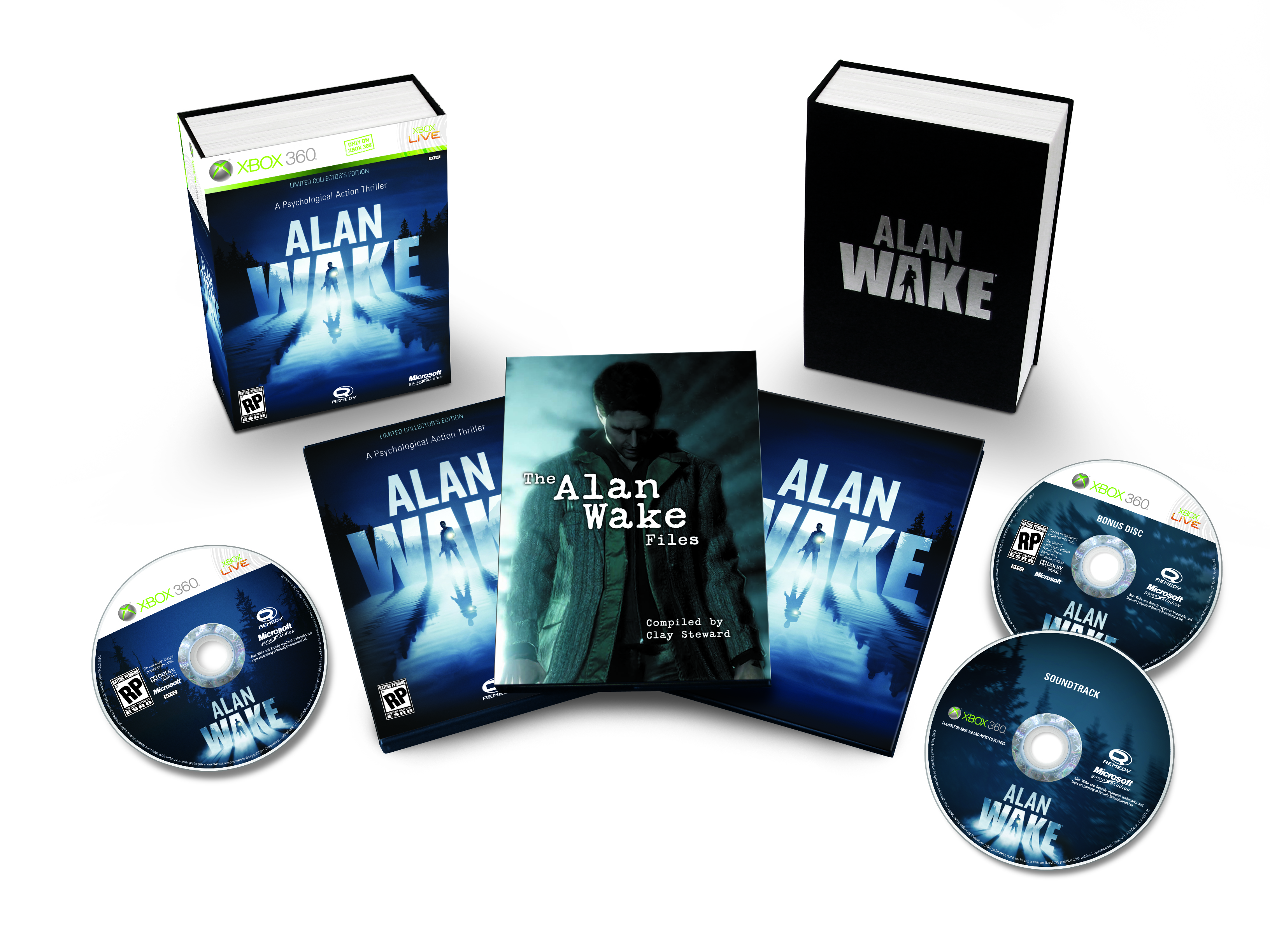 Alan Wake Collector X360