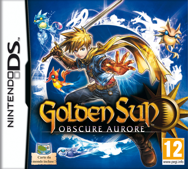 GoldenSunObscureAurore DS Jaquette