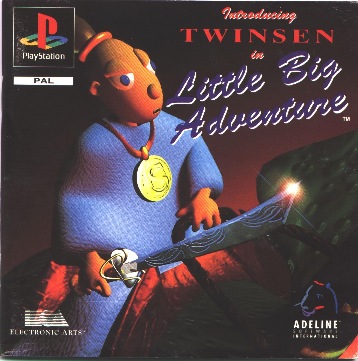 LittleBigAdventure PS Jaquette
