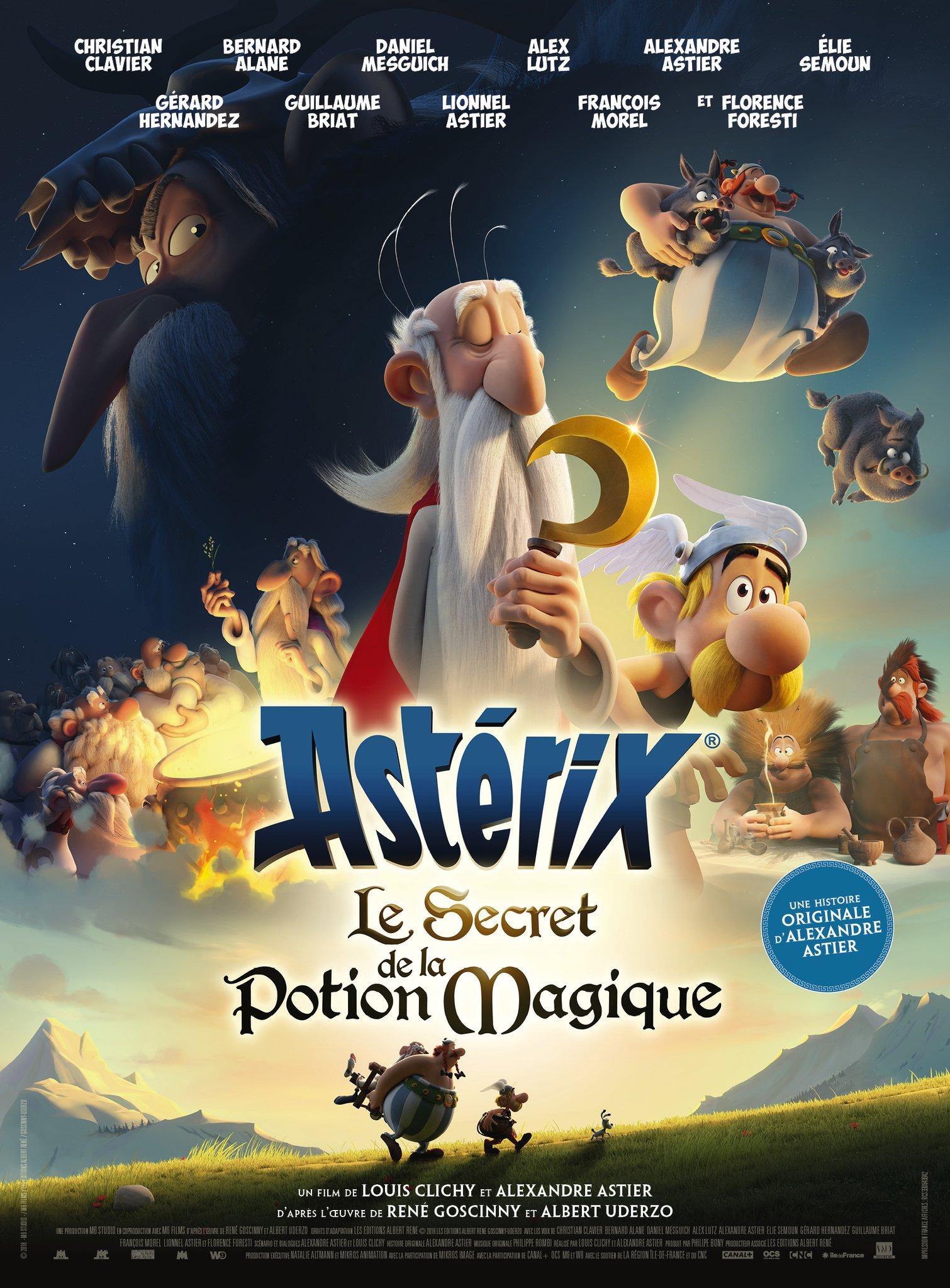 Asterix Potion Magique Poster