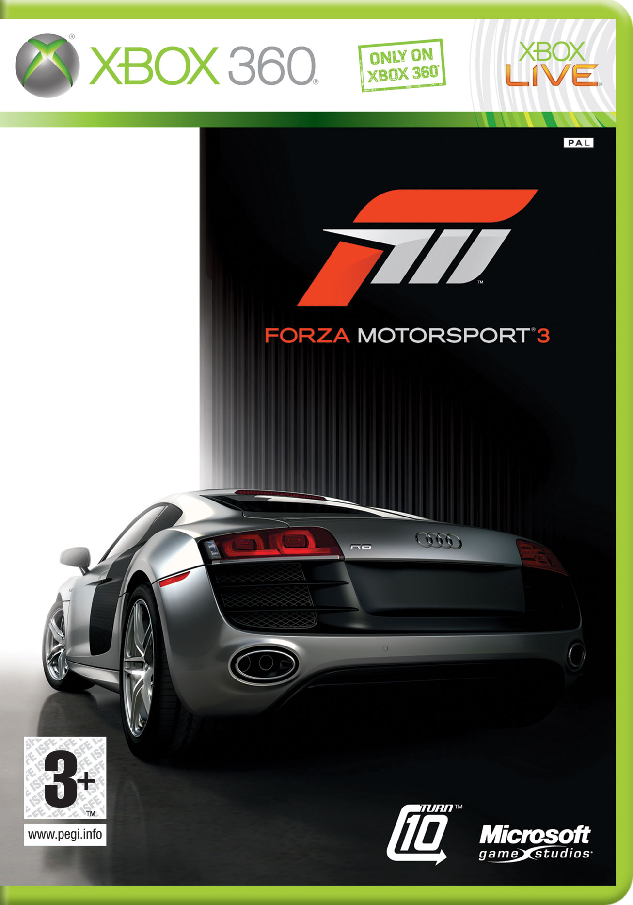 Forza3 X360 Jaquette
