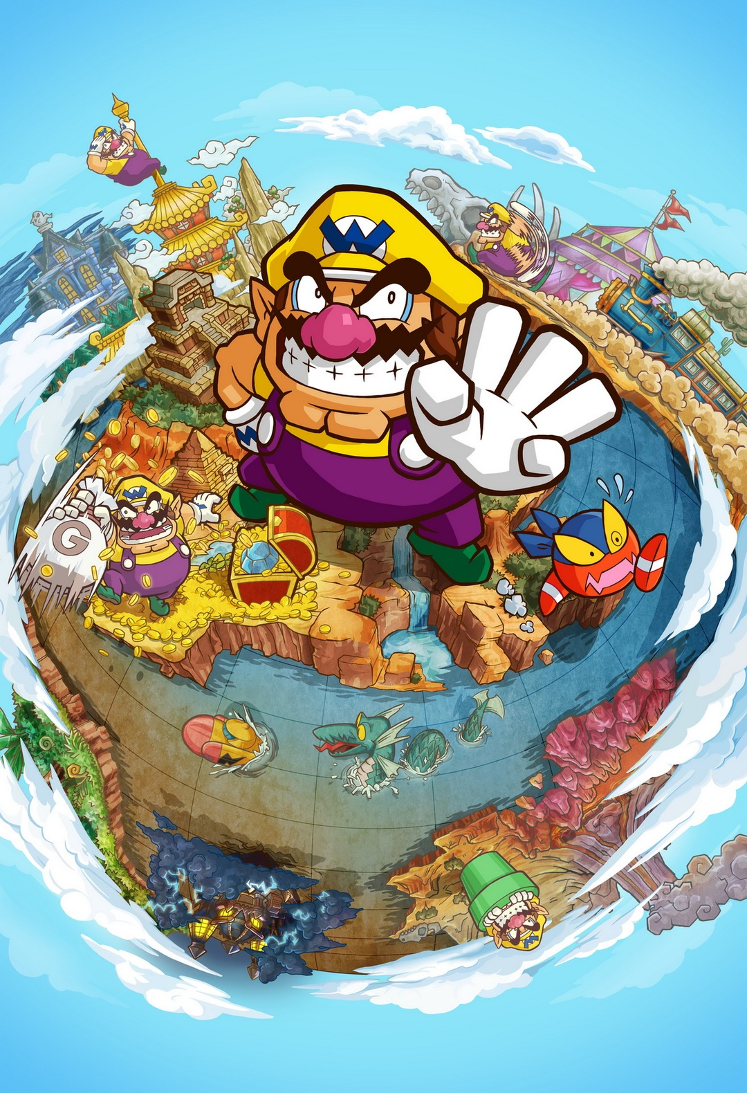 Warioland ShakeDimension Visuel01