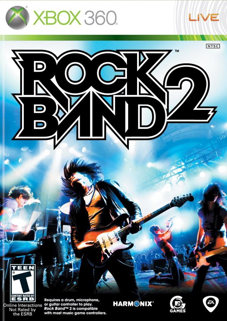 RockBand2 X360 Jaquette