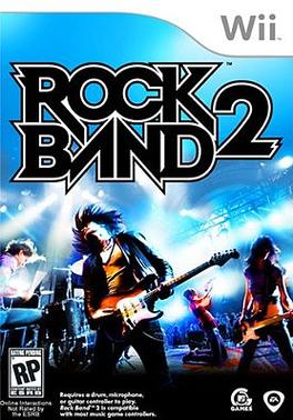 RockBand2 Wii Jaquette