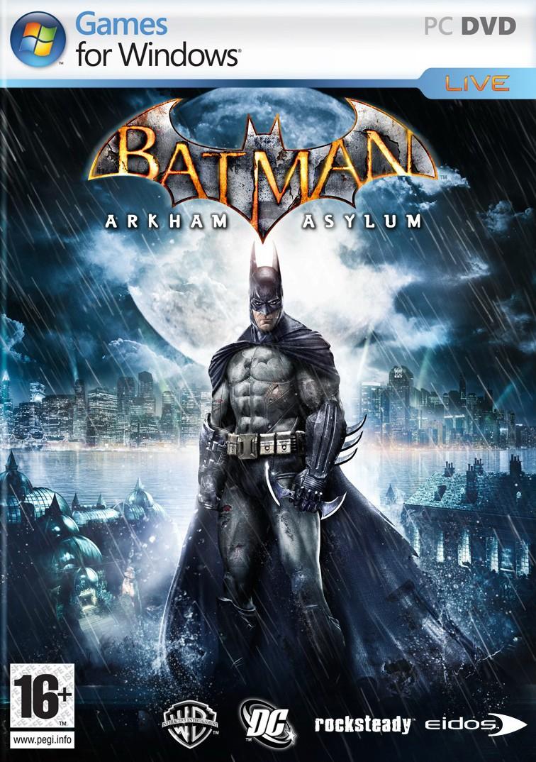 BatmanArkhamAsylum PC jaquette01