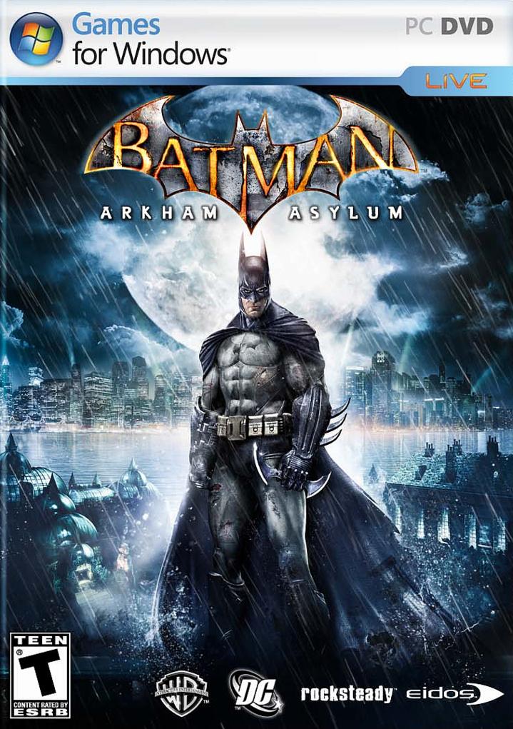 Batman Arkham Asylum jaq PC
