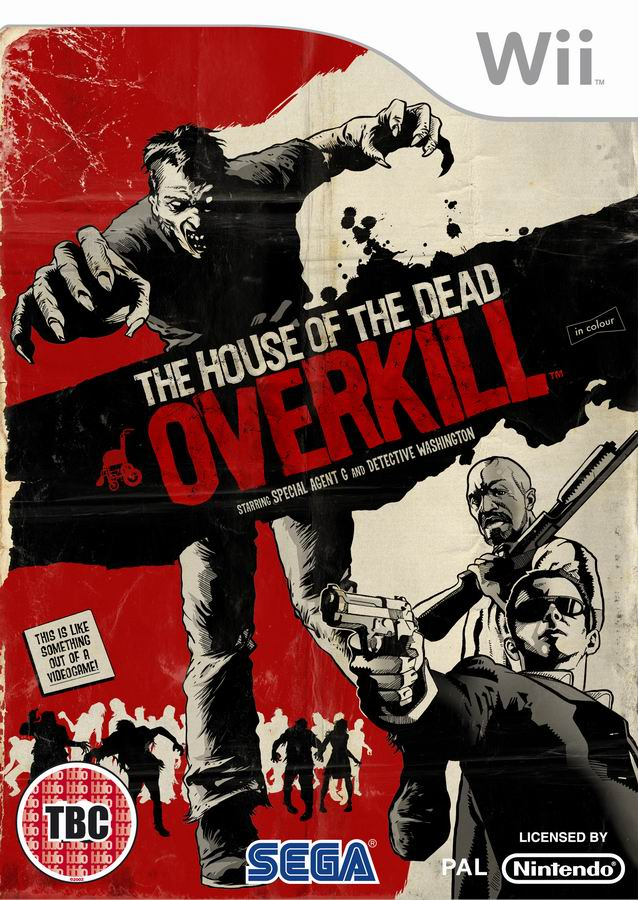 HouseofDead Overkill Wii Jaquette