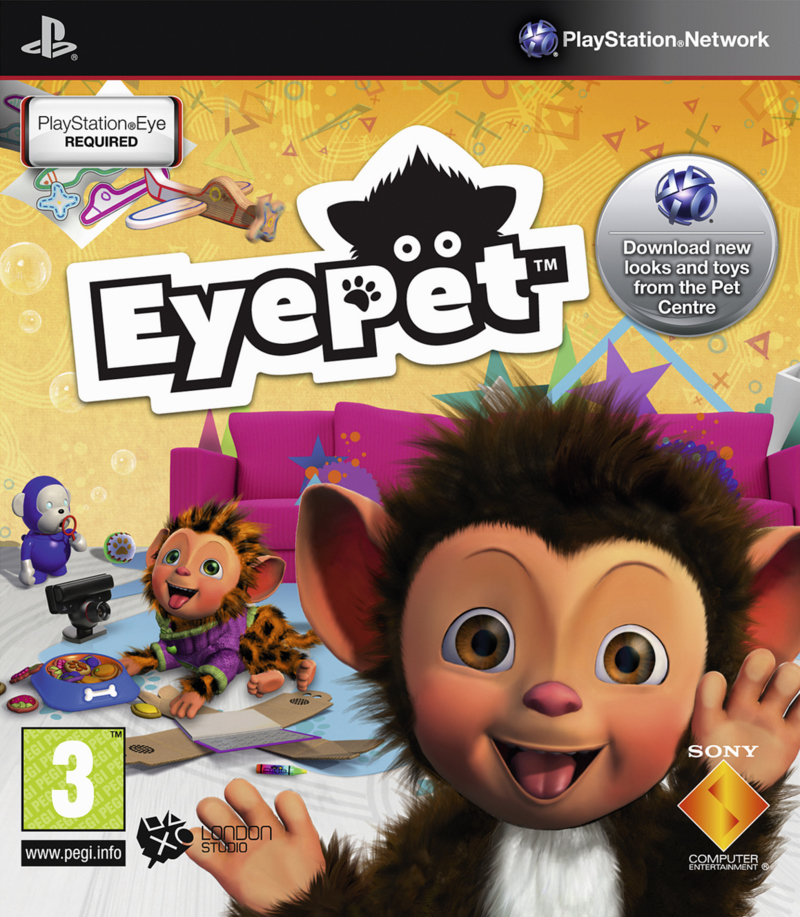 EyePet PS3 jaquette001