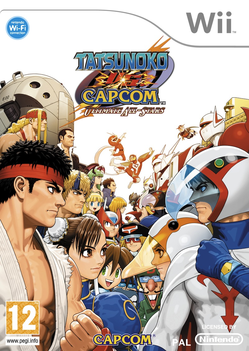TatsunokoVsCapcomUltimateAllStars Wii jaquette001
