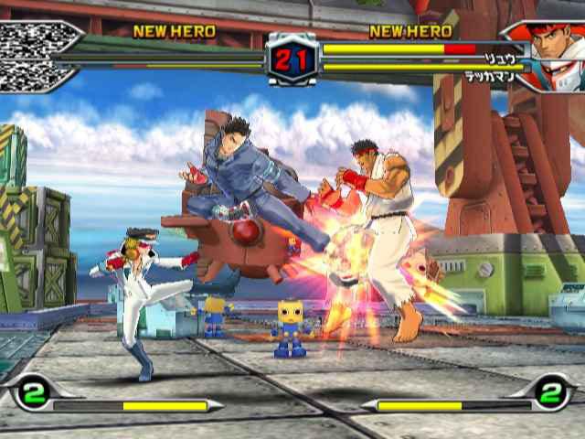 TatsunokoVsCapcom Wii Edit008