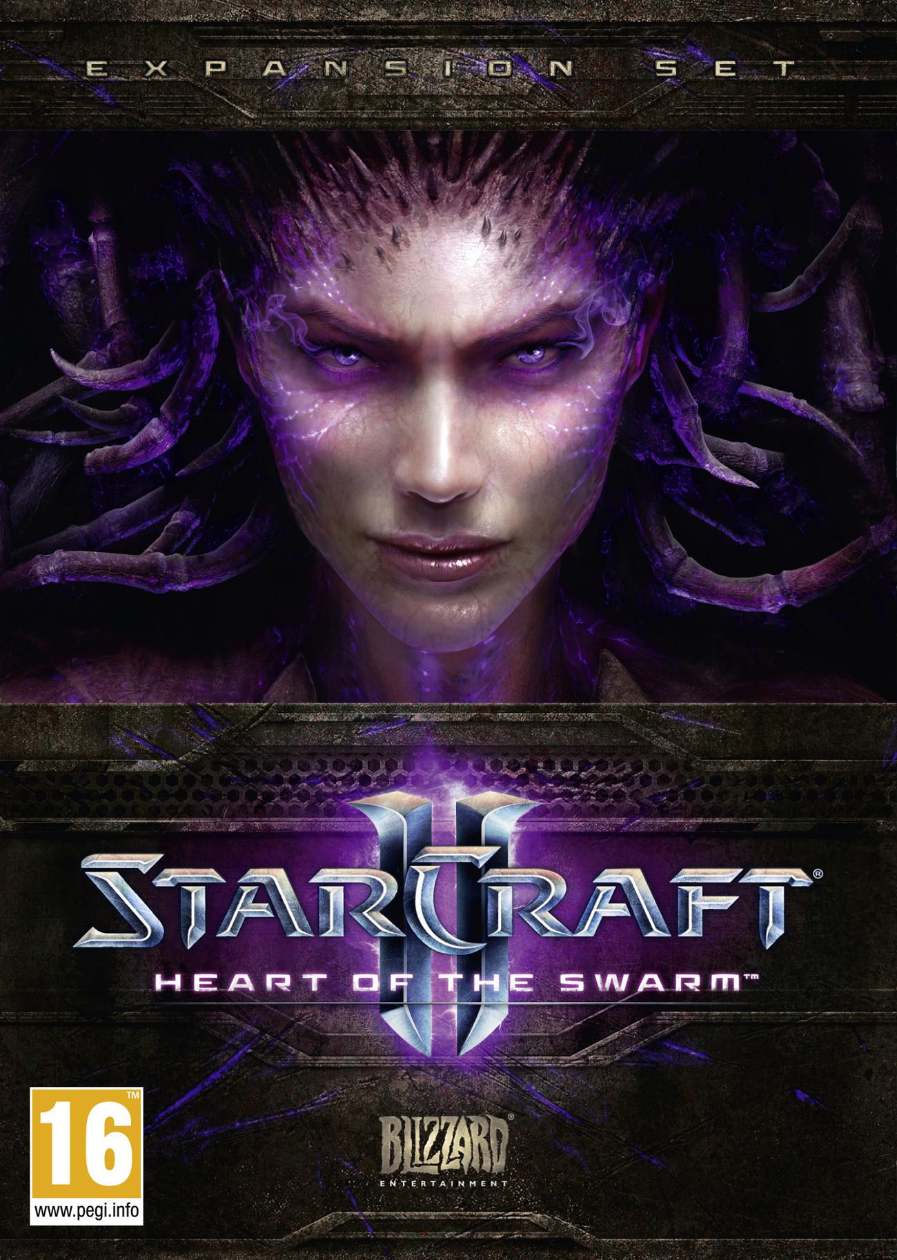 StarCraftII-HeartoftheSwarm Multi Jaquette 001