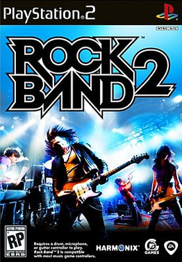 RockBand2 PS2 Jaquette