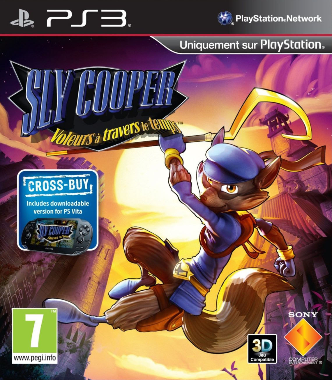 SlyCooper-ThievesinTime PS3 Jaquette 001