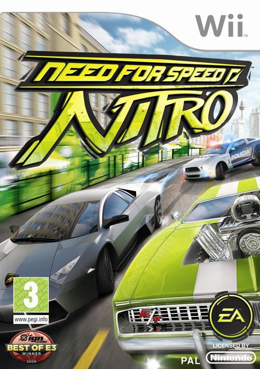 Need for Speed Nitro Sur La Wii