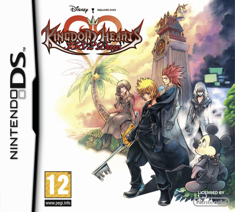 KingdomHearts3582Days DS jaquette001