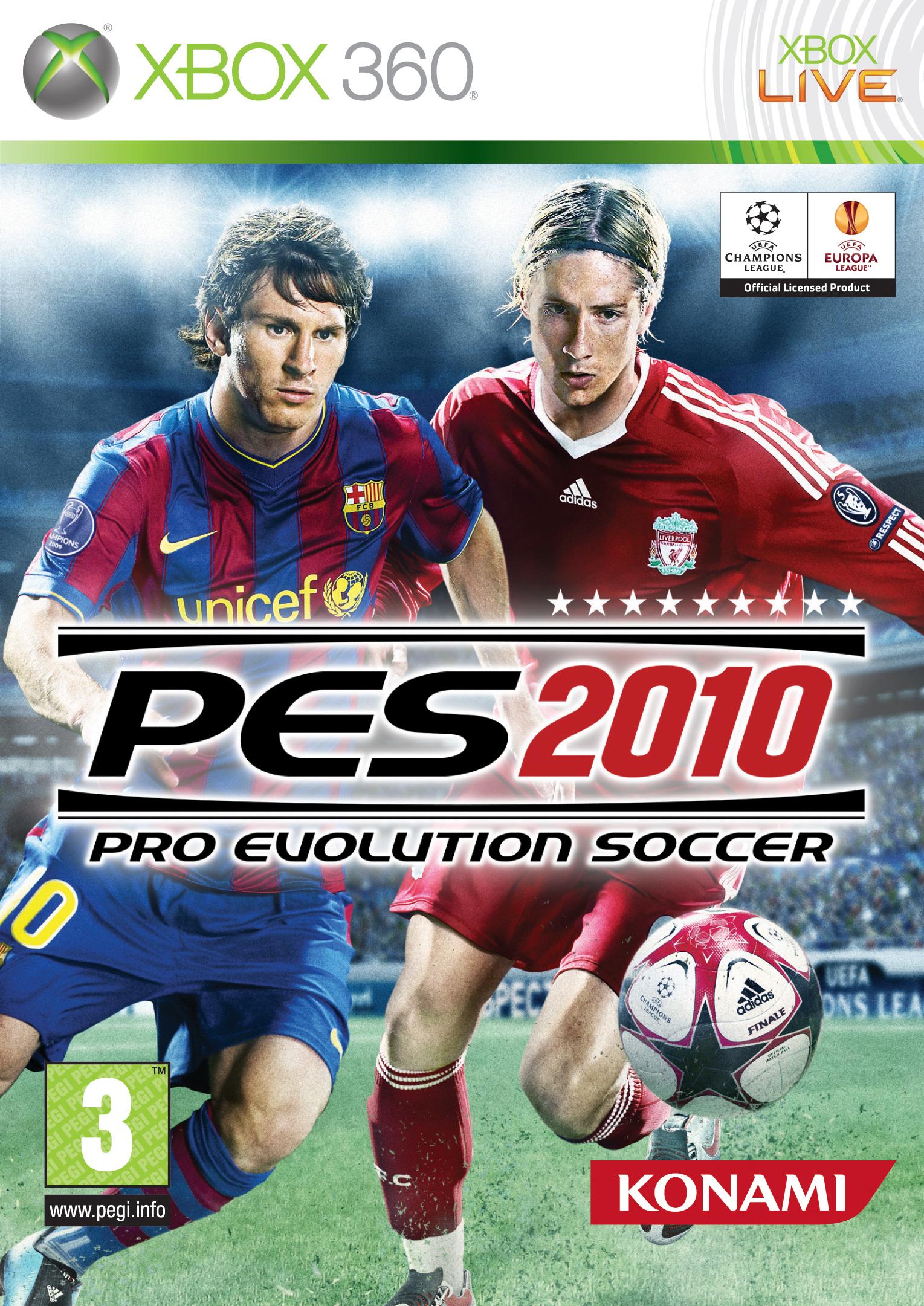 PES2010 X360 jaquette