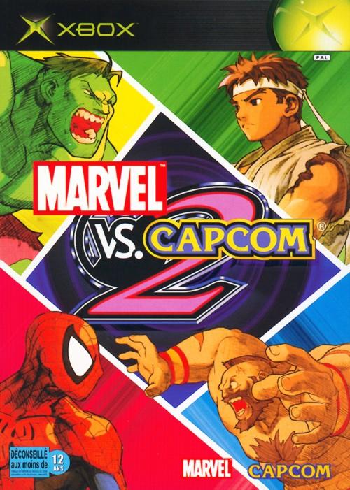 MarvelVsCapcom2 Xbox Jaquette