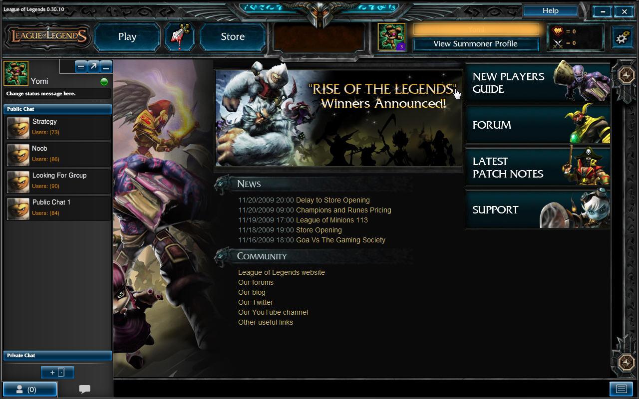 League of Legends PC Test 15