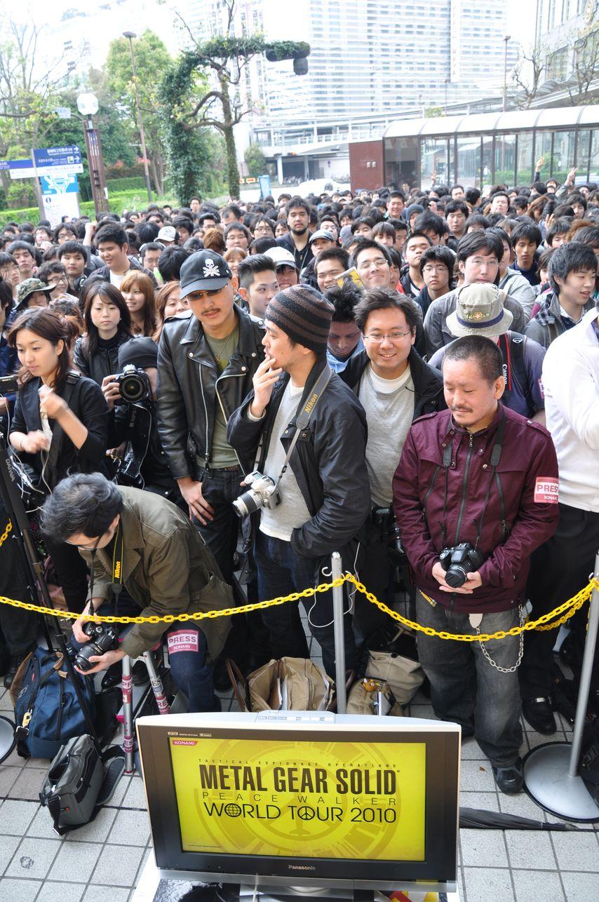 MGS PeaceWalker JapanLaunch 012
