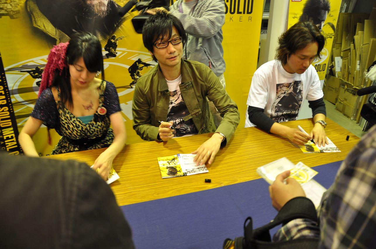 MGS PeaceWalker JapanLaunch 021