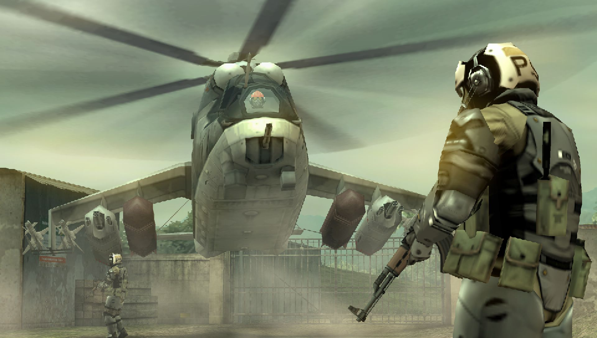 MGS PeaceWalker PSP Edit034