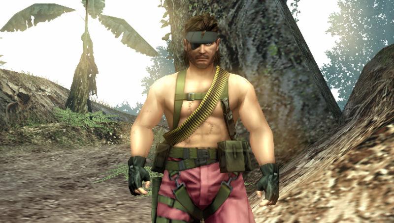 MGS PeaceWalker PSP Pink DLC Edit 01