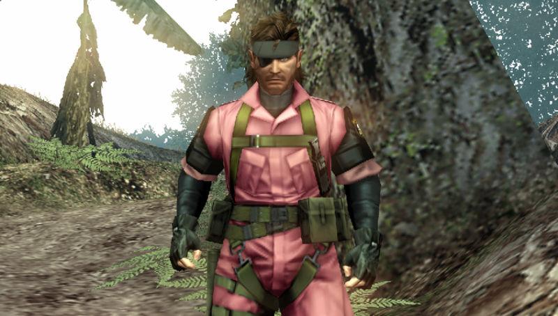 MGS PeaceWalker PSP Pink DLC Edit 02
