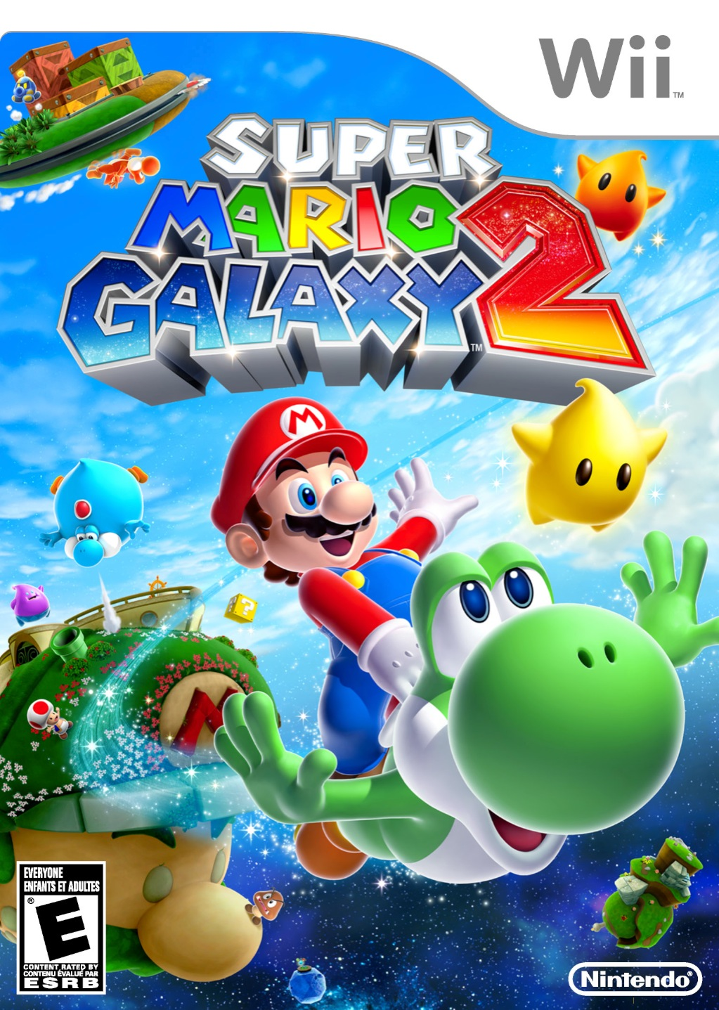 SuperMarioGalaxy2 Wii Jaquette