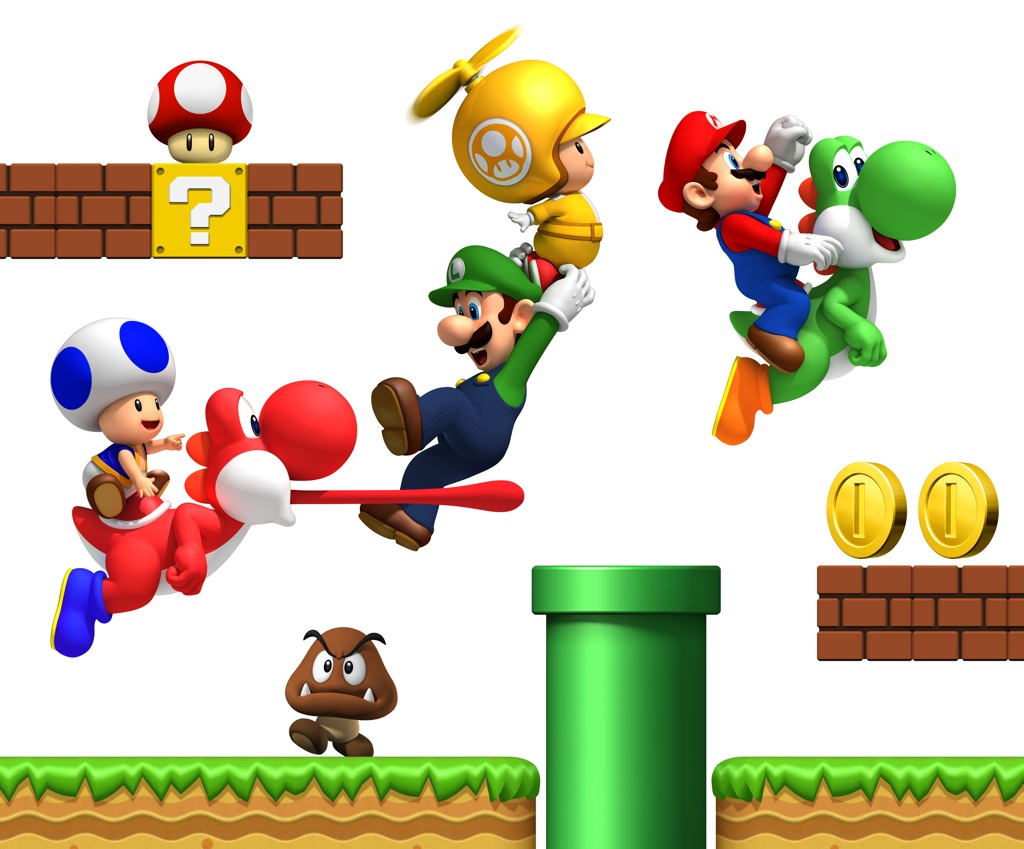 NewSuperMarioBros Wii Art002