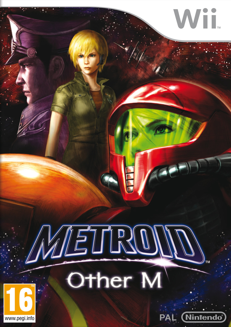 Metroid Other M Wii UE Jaquette