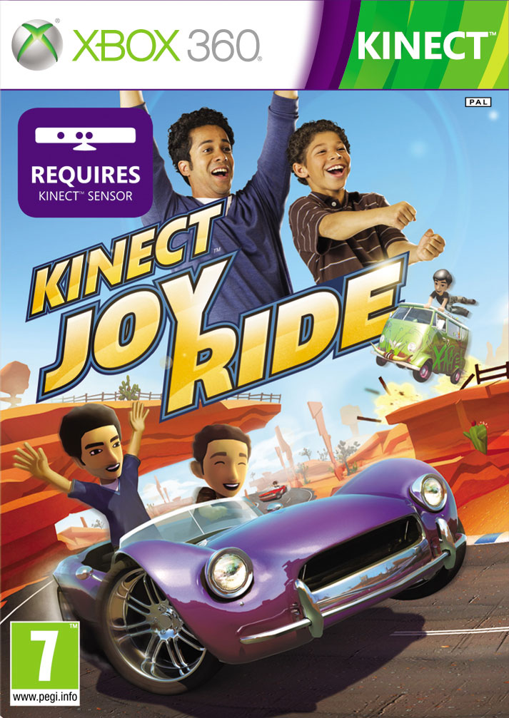 KinectJoyRide 360 Jaquette