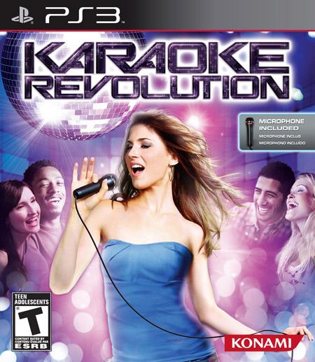 KaraokeRevolution PS3 Jaquette