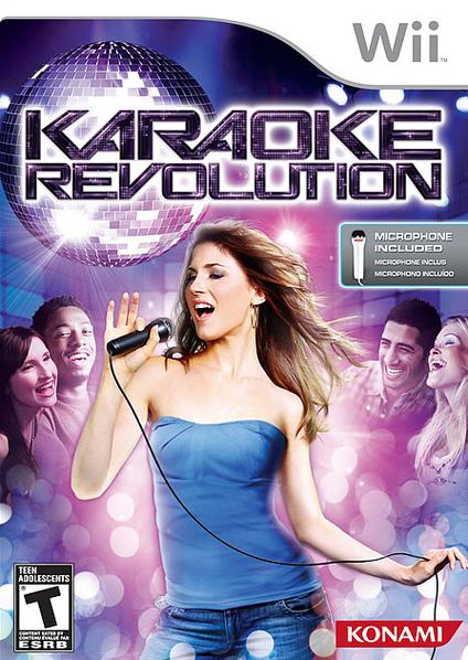 KaraokeRevolution Wii Jaquette