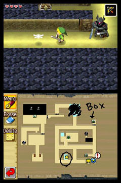 ZeldaPhantom DS Editeur 001